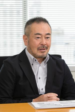 Deputy Head of Customer Service Department Mr. Noriaki Saito