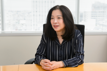 General Manager of Contract Services, Customer Service Department Ms. Naomi Fukuda