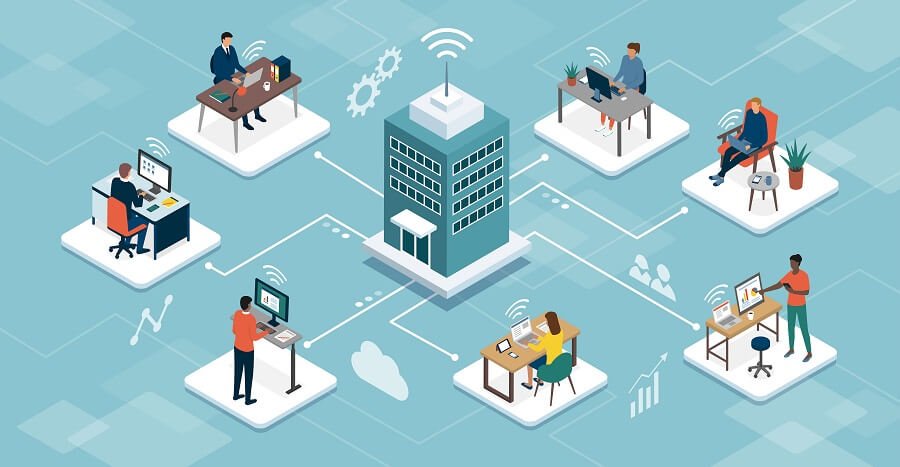 テレワークで企業が抱えやすい課題と解決策
